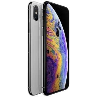 【SIMフリー】Apple iPhone XS A12 Bionic 5.8型 ストレージ: 64GB nanoSIM MTAX2J/A シルバー