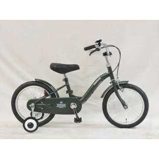 16型 幼児用自転車 Goteborg ヨーテボリ(半ツヤカーキグリーン/シングルシフト) CBC16 #211 【組立商品につき返品不可】