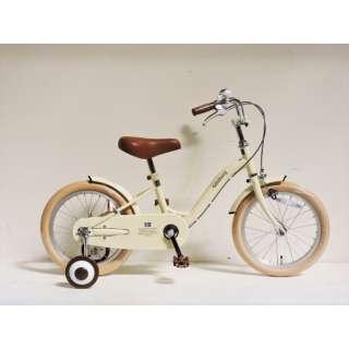 16型 幼児用自転車 Goteborg ヨーテボリ(ミルクホワイト/シングルシフト) CBC16 #592 【組立商品につき返品不可】