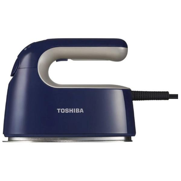 東芝 TAS-V5BK-L 衣類スチーマー インディゴブルー ハンガーショット機能付き