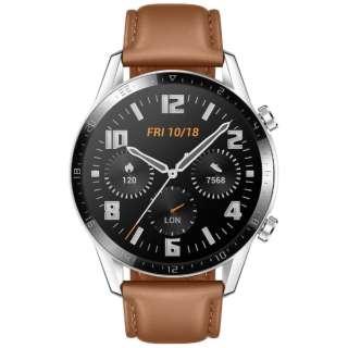 WATCHGT246MMBR スマートウォッチ Watch GT2 46mm Pebble Brown