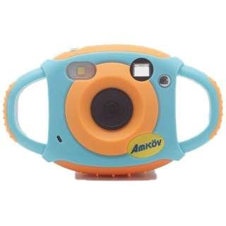 キッズカメラ CD-FS ブルー/オレンジ [デジタル式]