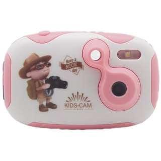 キッズカメラ CD-DF-PK ピンク [デジタル式]