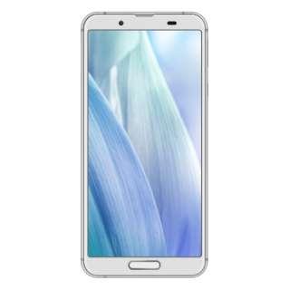 【防水・防塵・おサイフケータイ】AQUOS sense3 シルバーホワイト「SH-M12-S」Snapdragon 630 5.5型・メモリ/ストレージ:4GB/64GB nanoSIM x2 DSDV対応 ドコモ / au / ソフトバンク対応 SIMフリースマートフォン