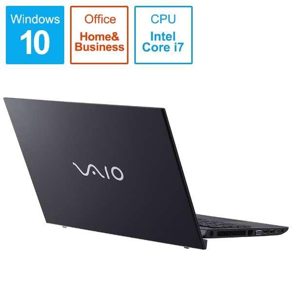 ノートパソコン VAIOS15 ブラック VJS15490211B [15.6型 /intel Core i7 /HDD:1TB /メモリ:8GB /2019年11月モデル]