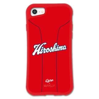 iPhone6/6s/7/8 WAYLLY-MK × 広島カープ セット ドレッサー ユニホーム mkcarp-set-678-uni