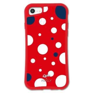 iPhone6/6s/7/8 WAYLLY-MK × 広島カープ セット ドレッサー ドット mkcarp-set-678-dot