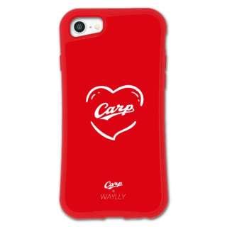 iPhone6/6s/7/8 WAYLLY-MK × 広島カープ セット ドレッサー ハート mkcarp-set-678-hrt
