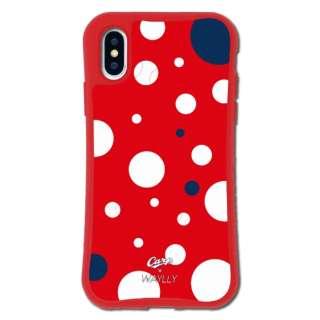 iPhoneX/XS WAYLLY-MK × 広島カープ セット ドレッサー ドット mkcarp-set-x-dot