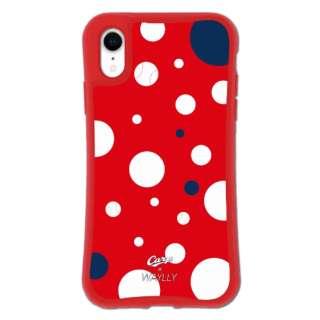iPhoneXR WAYLLY-MK × 広島カープ セット ドレッサー ドット mkcarp-set-xr-dot