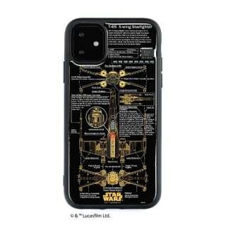 iPhone11 FLASH X-WING 基板アートケース IP11-060B
