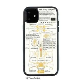 iPhone11 FLASH X-WING 基板アートケース IP11-060W