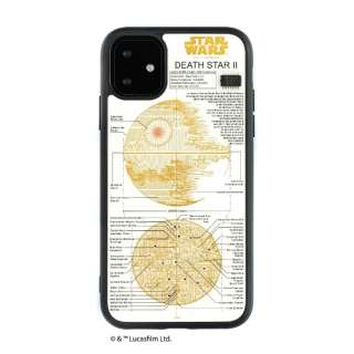 iPhone11 FLASH DEATH STAR 基板アートケース IP11-070W
