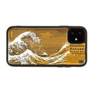iPhone11 FLASH 神奈川沖浪裏 基板アートケース IP11-190B