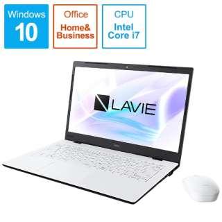 PC-HM750PAW ノートパソコン LAVIE Home Mobile(HM750シリーズ) パールホワイト [14.0型 /intel Core i7 /SSD:512GB /メモリ:8GB /2019年秋冬モデル]