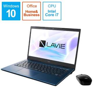PC-HM750PAL ノートパソコン LAVIE Home Mobile(HM750シリーズ) ネイビーブルー [14.0型 /intel Core i7 /SSD:512GB /メモリ:8GB /2019年秋冬モデル]