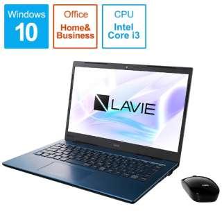 PC-HM350PAL ノートパソコン LAVIE Home Mobile(HM350シリーズ) ネイビーブルー [14.0型 /intel Core i3 /SSD:256GB /メモリ:4GB /2019年秋冬モデル]