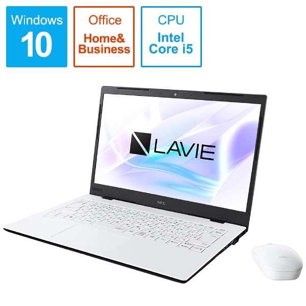 PC-HM550PAW-2 ノートパソコン LAVIE Home Mobile(HM550シリーズ) パールホワイト [14.0型 /intel Core i5 /SSD:256GB /メモリ:8GB /2019年秋冬モデル]
