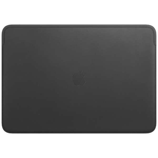 16インチMacBook Pro用 レザースリーブ MWVA2FE/A ブラック