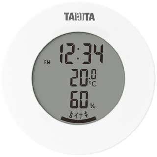 TT585WH タニタ 温湿度計 TT585WHデジタル  インフルエンザ対策 熱中症 カビ 観葉植物 ペット [デジタル]