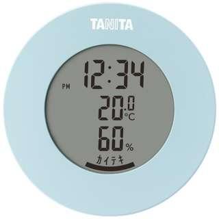 TT585BL タニタ 温湿度計 TT585BLデジタル  インフルエンザ対策 熱中症 カビ 観葉植物 ペット [デジタル]
