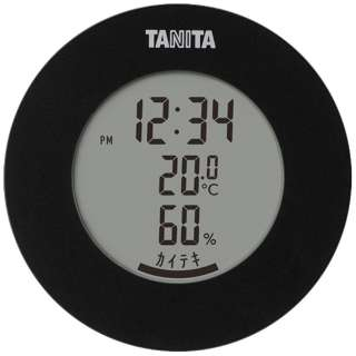 TT585BK タニタ 温湿度計 TT585BKデジタル グラフ表示 インフルエンザ対策 熱中症 カビ 観葉植物 ペット [デジタル]