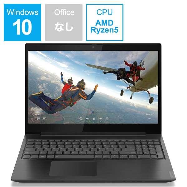 81LW00CMJP ノートパソコン IdeaPad L340 ブラック [15.6型 /AMD Ryzen 5 /HDD:1TB /メモリ:8GB /2020年1月モデル]