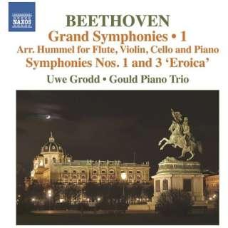 ウーヴェ・グロット/グールド・ピアノ・トリオ/ ベートーヴェン:交響曲 第3番&第5番 フンメルによるフルート、ヴァイオリン、チェロとピアノ編 【CD】