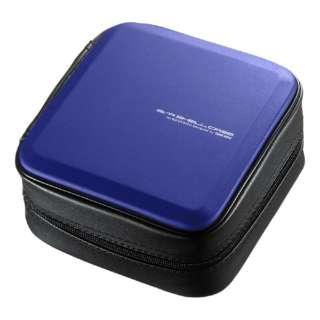 60枚収納 ブルーレイディスク対応セミハードケース ブルー FCD-WLBD60BL