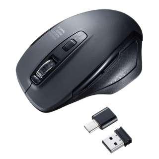 MA-WBLC169BK マウス ブラック [BlueLED /5ボタン /USB /無線(ワイヤレス)]