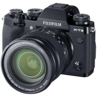 X-T3 ミラーレス一眼カメラ XF16-80mmレンズキット ブラック [ズームレンズ]