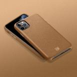 iPhone 11 Pro La Manon calin Camel Brown