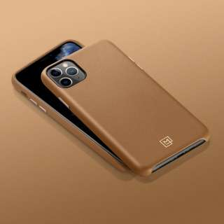 iPhone 11 Pro La Manon calin Camel Brown