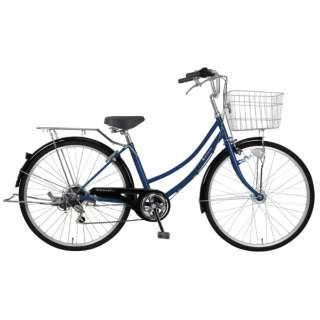 26型 自転車 リブレットホーム 266-B(ダークブルー/6段変速)MK-20-059【2020年モデル】 【組立商品につき返品不可】