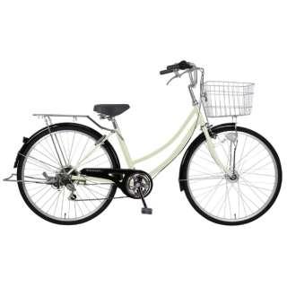 26型 自転車 リブレットホーム 266-B(ベージュ/6段変速)MK-20-059【2020年モデル】 【組立商品につき返品不可】