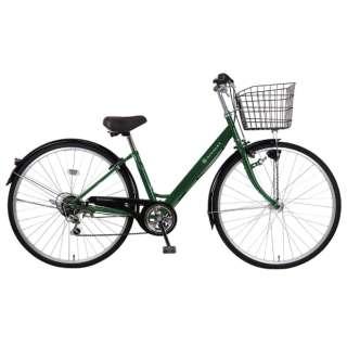 27型 自転車 リブレットシティ 276-B(ダークグリーン/6段変速)MK-20-060【2020年モデル】 【組立商品につき返品不可】