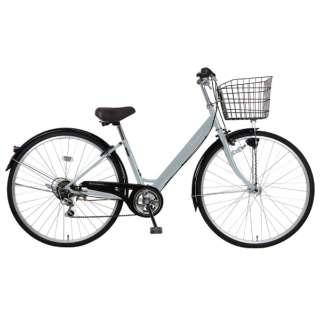 27型 自転車 リブレットシティ 276-B(グレー/6段変速)MK-20-060【2020年モデル】 【組立商品につき返品不可】