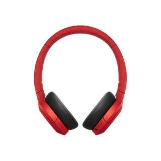 ≪海外仕様≫ツーリストモデル ブルートゥースヘッドホン WH-H810 RM  E レッド [リモコン・マイク対応 /Bluetooth /ハイレゾ対応]
