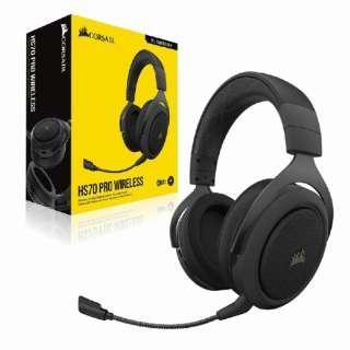 CA-9011211-AP ゲーミングヘッドセット HS70 PRO Wireless carbon カーボン [ワイヤレス(USB) /両耳 /ヘッドバンドタイプ]