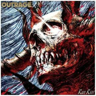 OUTRAGE/ RUN RIOT 通常盤 【CD】