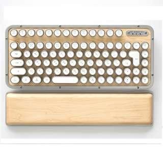 MK-RCK-W-02-JP キーボード レトロクラシック メープル [Bluetooth・USB /有線・ワイヤレス]