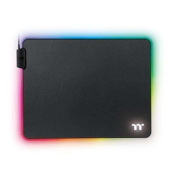 GMP-LVT-RGBHMS-01 ゲーミングマウスパッド TT PREMIUM GAMING LEVEL 20 RGB Mousepad Hard Medium[370x290x4mm] RGB