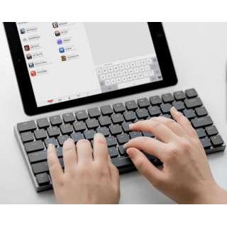 TAPTEK-MB キーボード Taptek ブラック [Bluetooth・USB /有線・ワイヤレス]