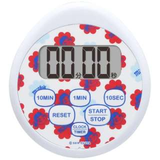 Milkey 時計付き防水タイマー T565BLFA