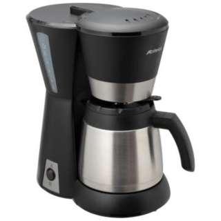 ACD-88W-K コーヒーメーカー ブラック&シルバー