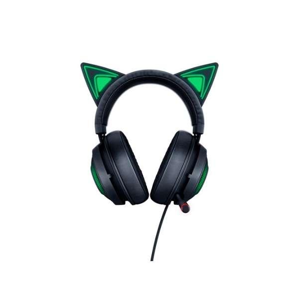 RZ04-02980100-R3M1 ゲーミングヘッドセット Kraken Kitty Black [USB /両耳 /ヘッドバンドタイプ]