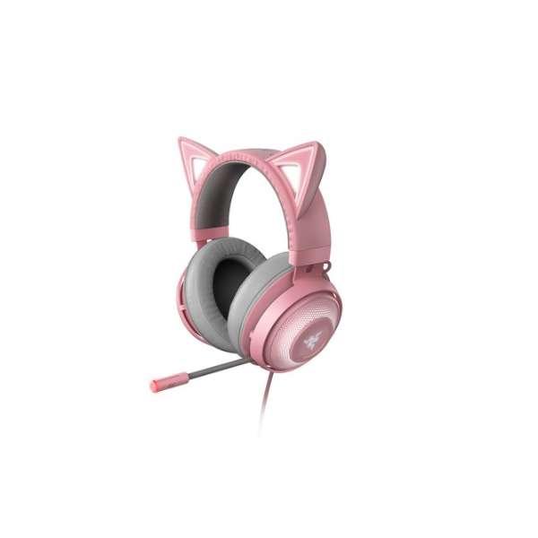 RZ04-02980200-R3M1 ゲーミングヘッドセット Kraken Kitty Quartz Pink [USB /両耳 /ヘッドバンドタイプ]