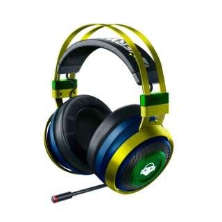 RZ04-02670200-R3M1 ゲーミングヘッドセット Nari Ultimate Overwatch Lucio Edition [ワイヤレス(USB)+有線 /両耳 /ヘッドバンドタイプ]