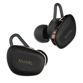 フルワイヤレスイヤホン NUARL N6 Pro マットブラック N6PRO-MB [リモコン・マイク対応 /ワイヤレス(左右分離) /Bluetooth]