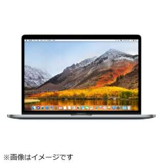MacBookPro 15インチ Touch Bar搭載 USキーボード カスタマイズモデル[2018年/SSD 256GB/メモリ 16GB/2.2GHz6コア Core i7]スペースグレイ MR932JA/A